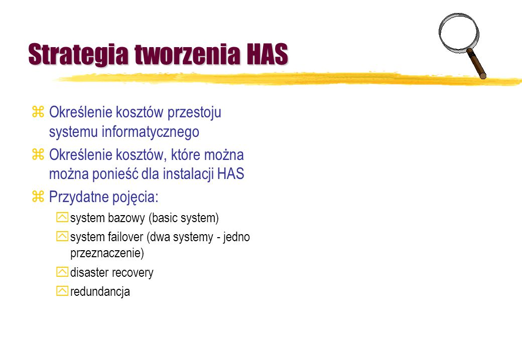 Strategia tworzenia HAS