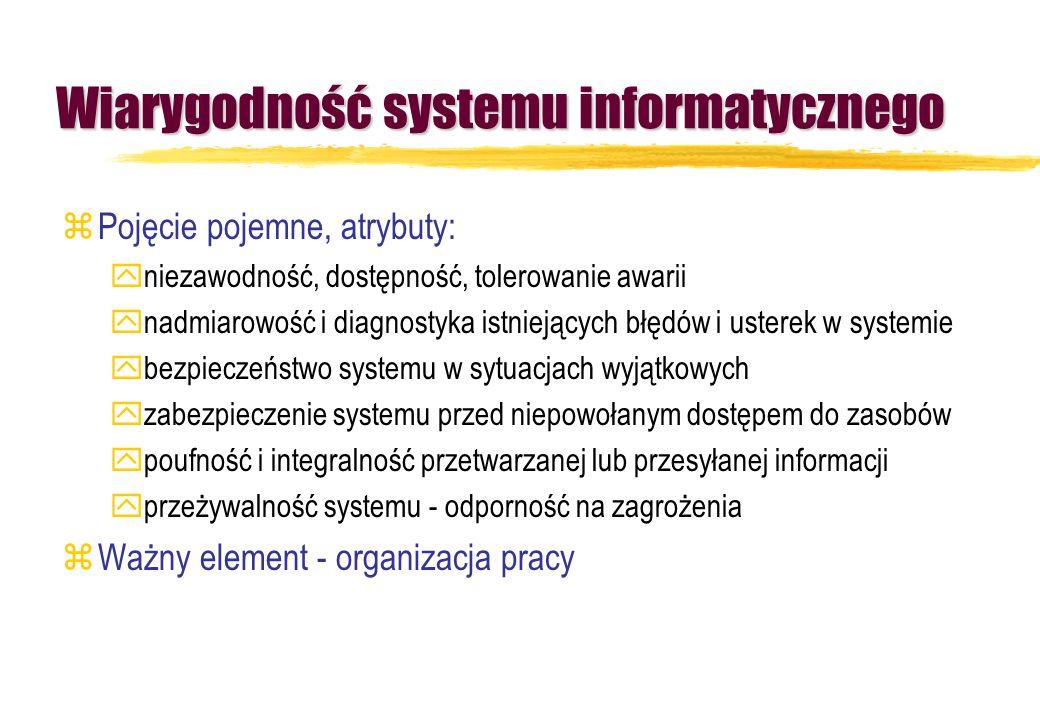 Wiarygodność systemu informatycznego