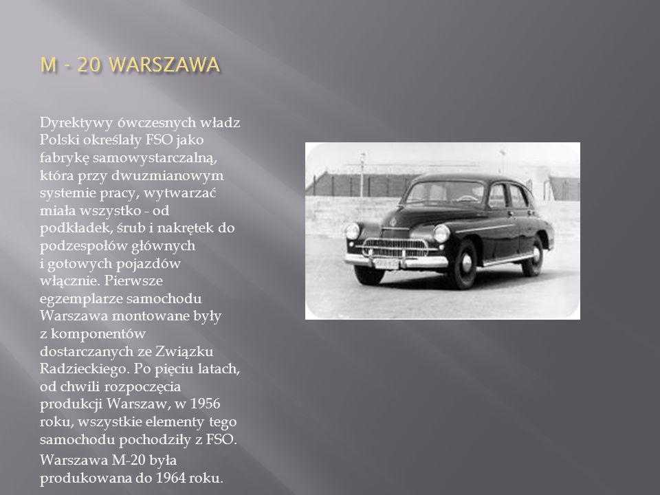 M - 20 WARSZAWA