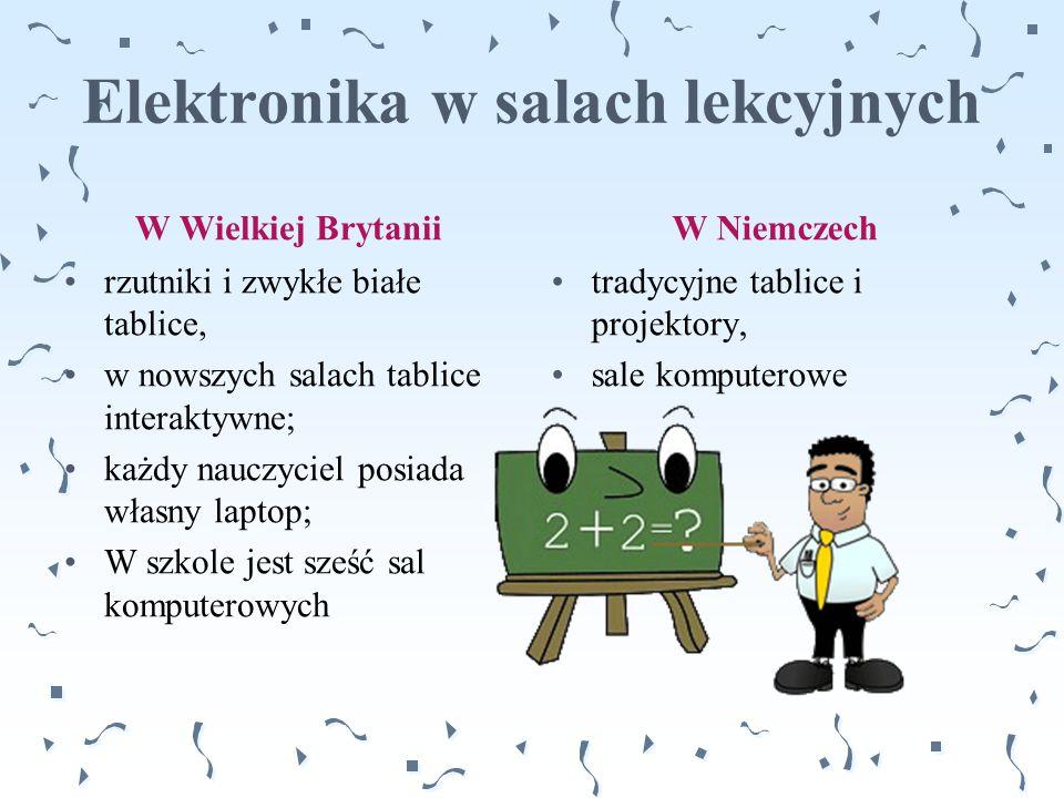 Elektronika w salach lekcyjnych