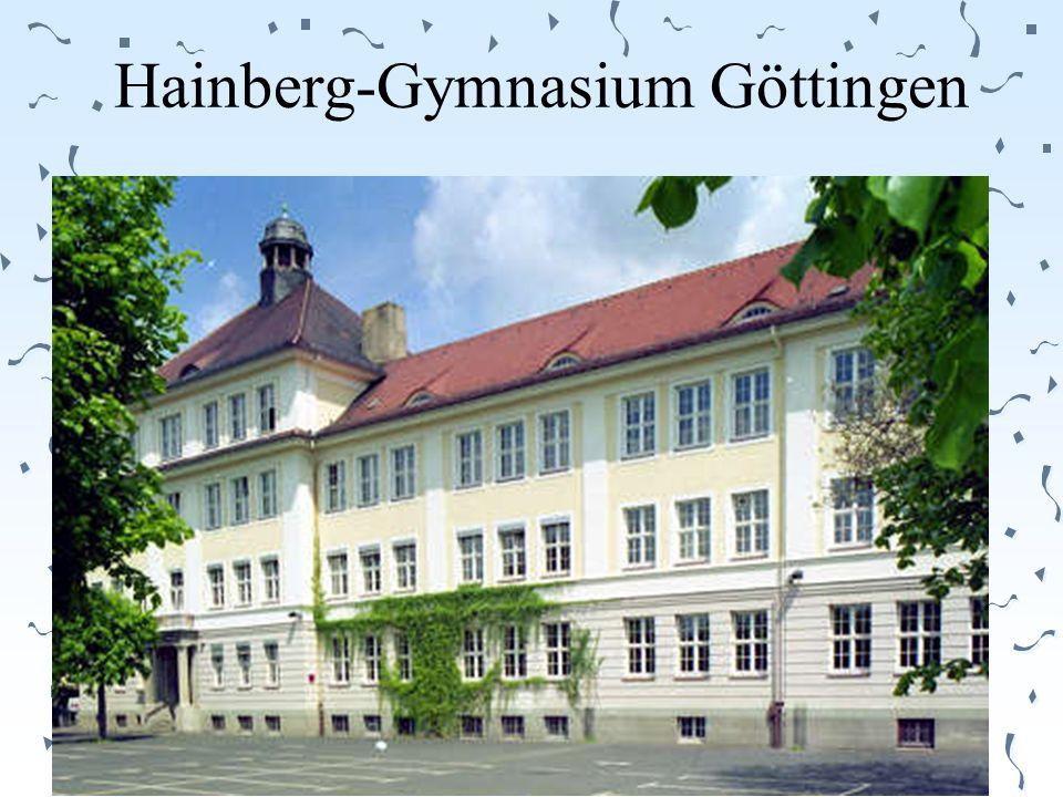 Hainberg-Gymnasium Göttingen