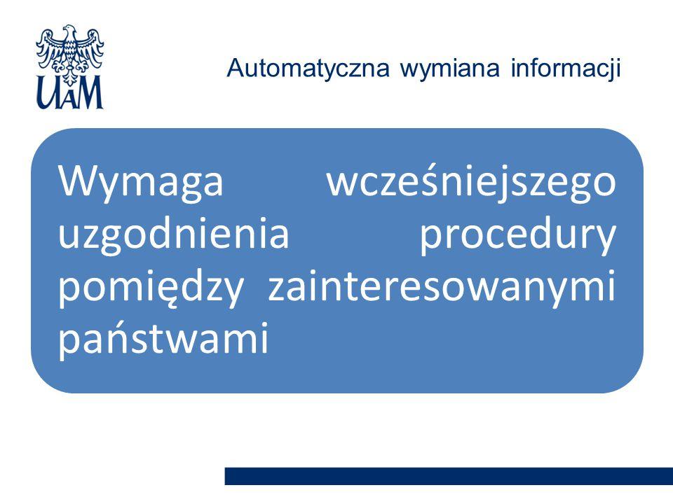 Automatyczna wymiana informacji