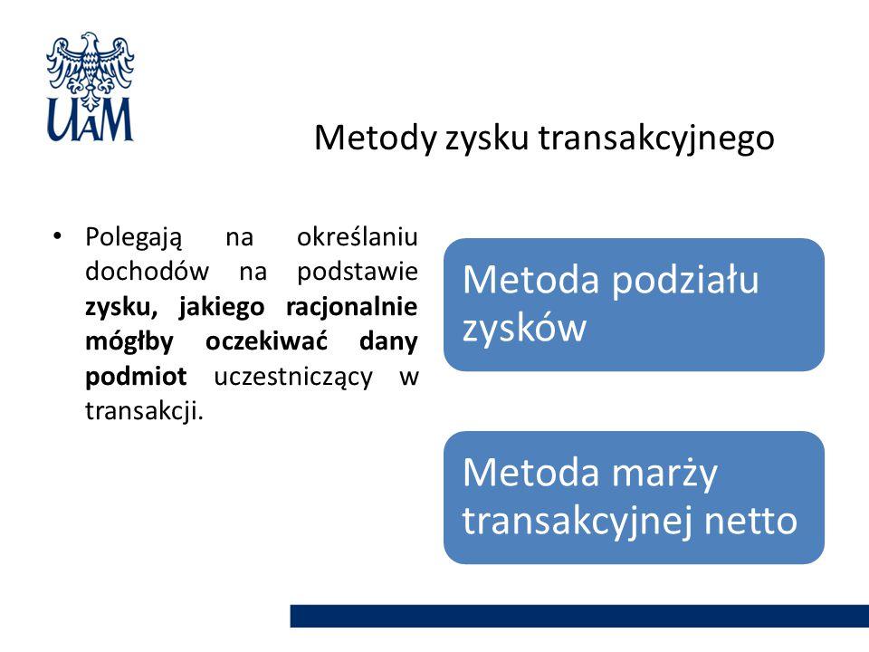 Metody zysku transakcyjnego
