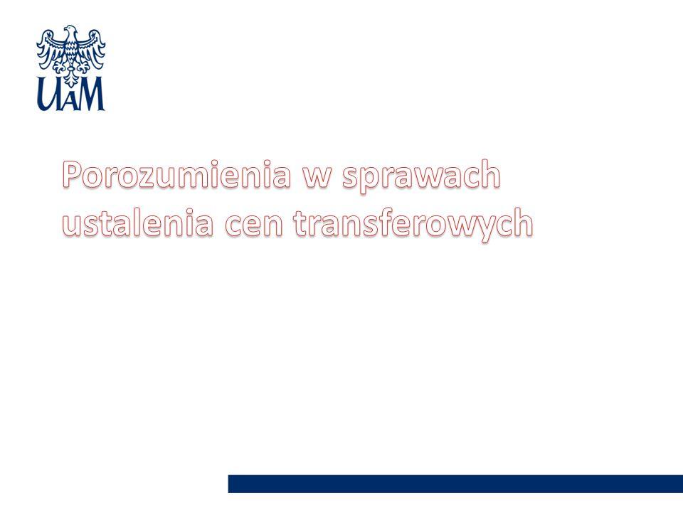 Porozumienia w sprawach ustalenia cen transferowych