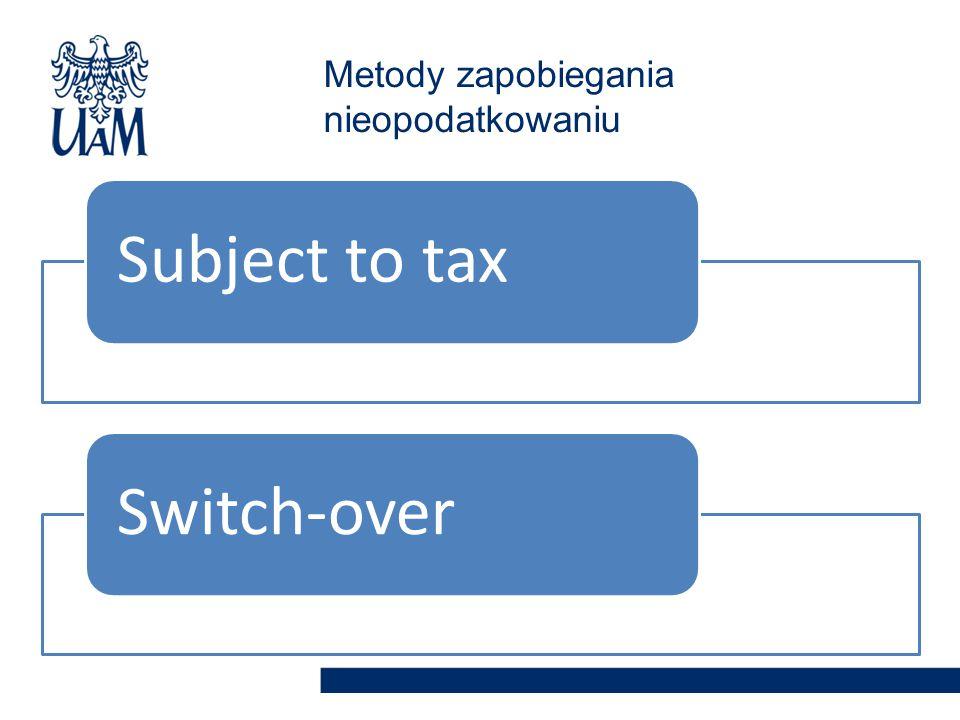 Metody zapobiegania nieopodatkowaniu