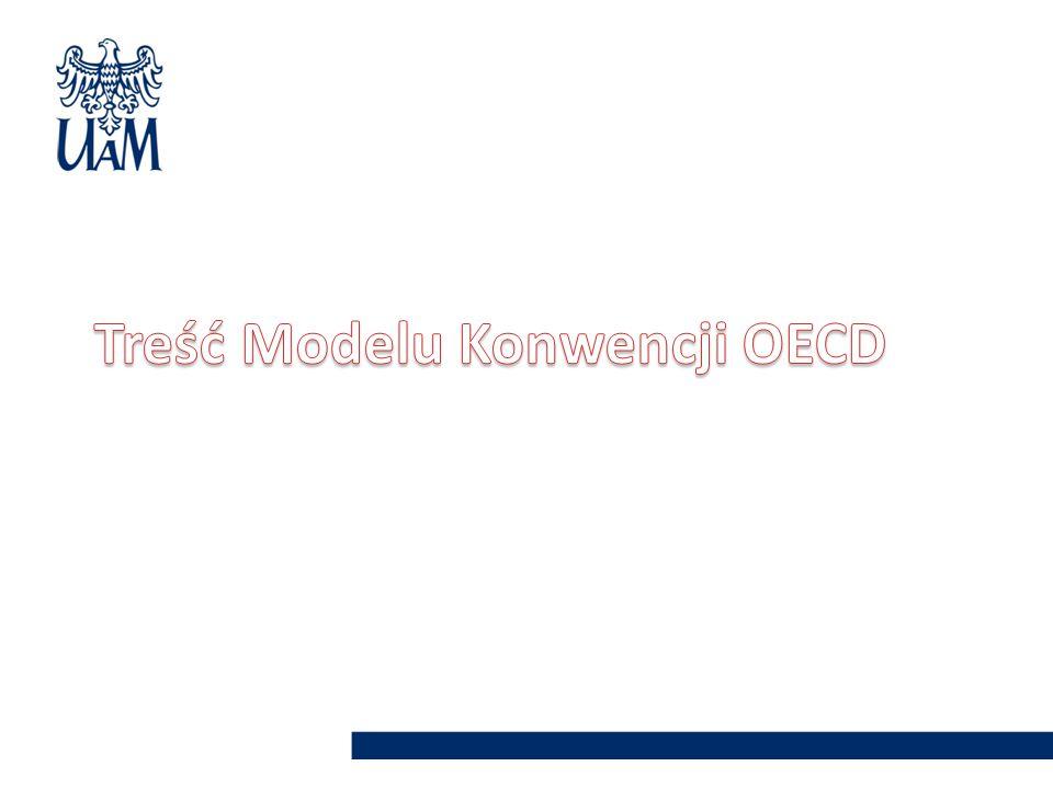 Treść Modelu Konwencji OECD