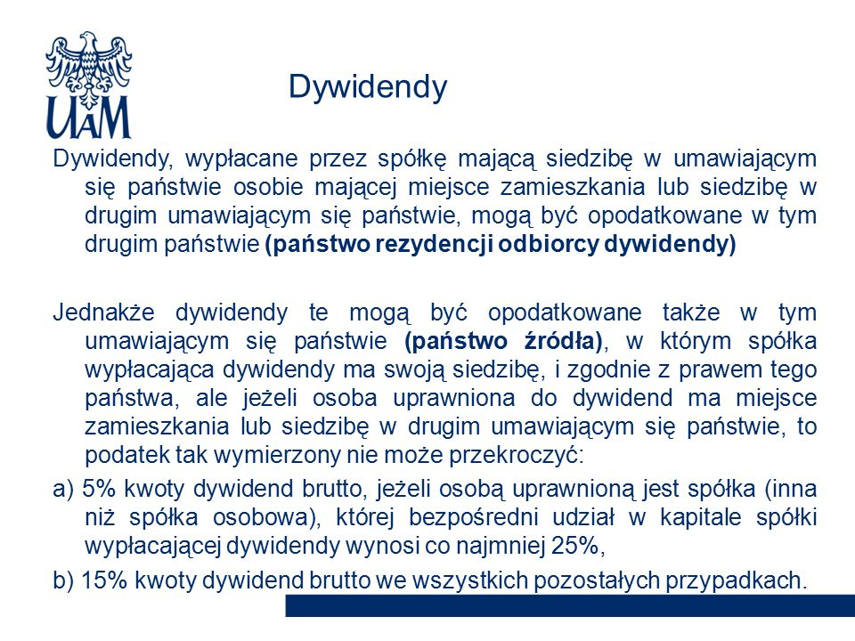 Dywidendy