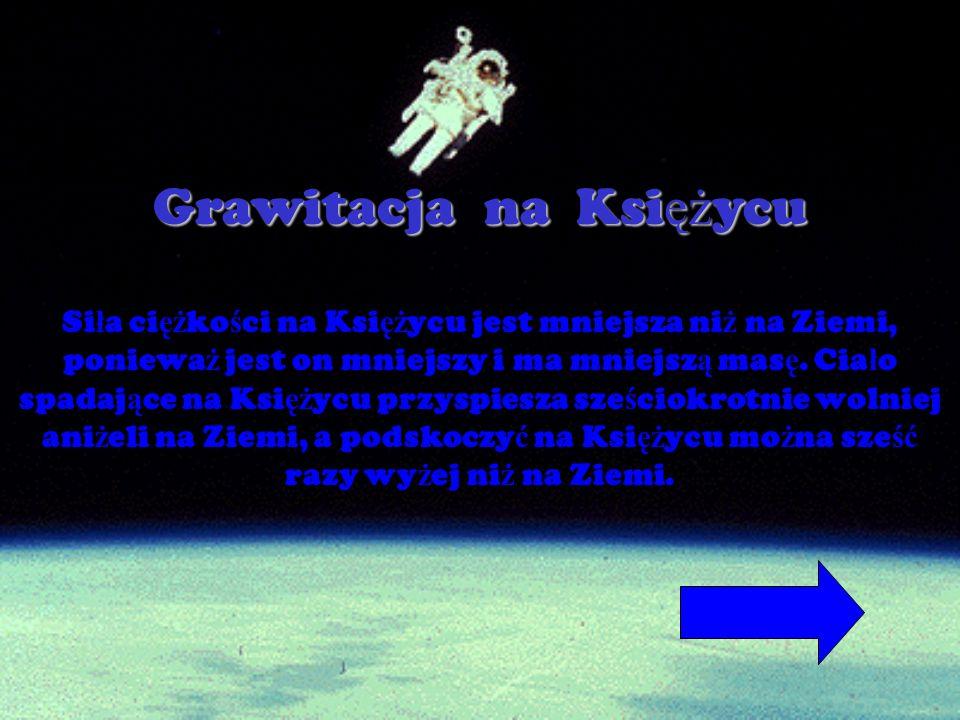 Grawitacja na Księżycu