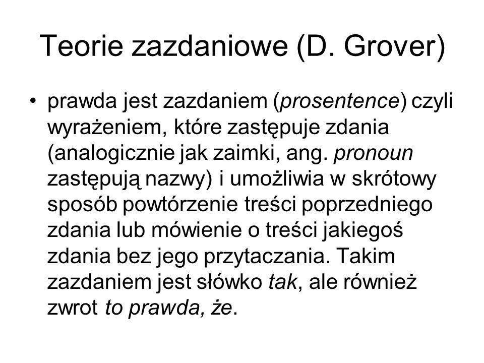 Teorie zazdaniowe (D. Grover)