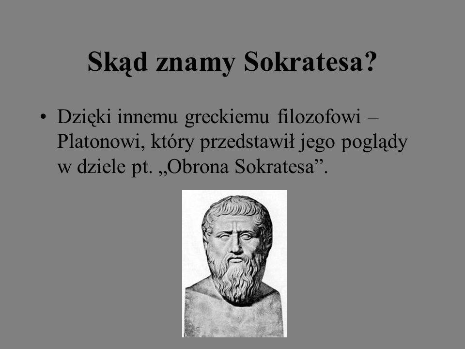 Skąd znamy Sokratesa.