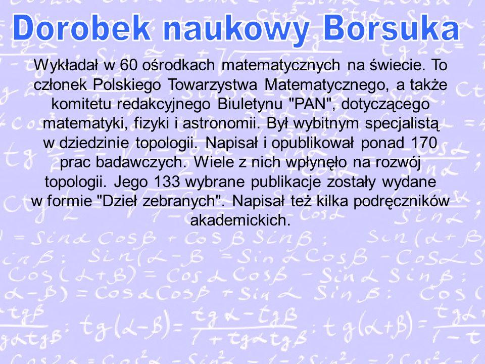 Dorobek naukowy Borsuka