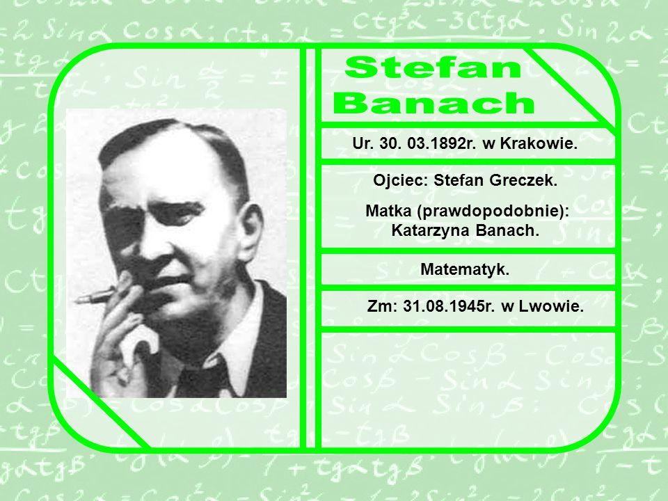 Ojciec: Stefan Greczek. Matka (prawdopodobnie): Katarzyna Banach.