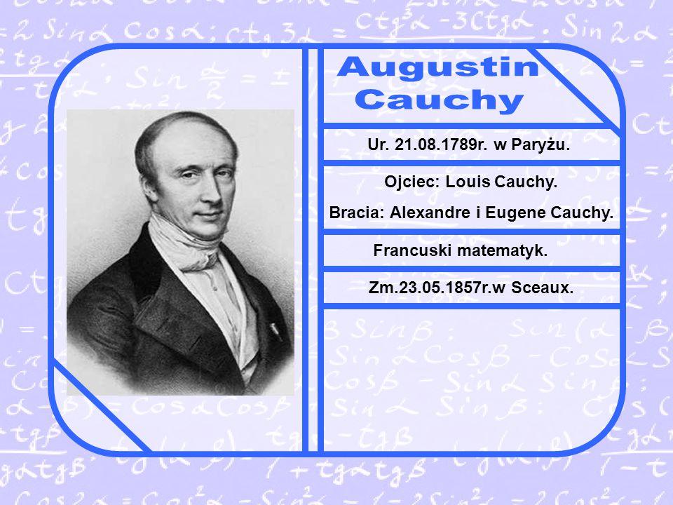Bracia: Alexandre i Eugene Cauchy.