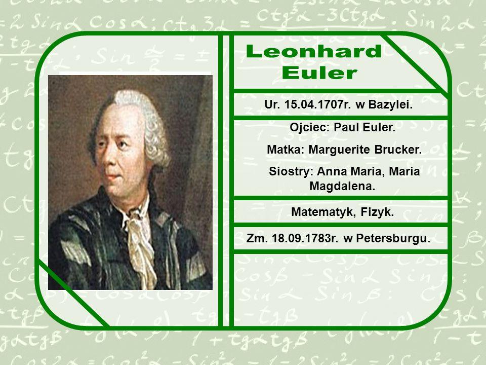 Matka: Marguerite Brucker. Siostry: Anna Maria, Maria Magdalena.