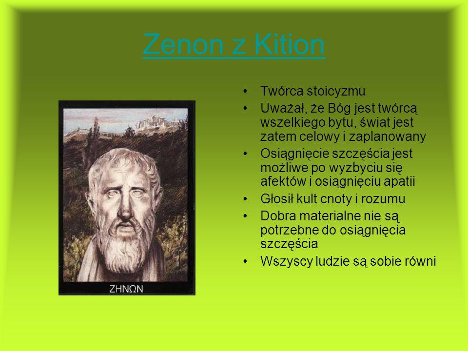Zenon z Kition Twórca stoicyzmu