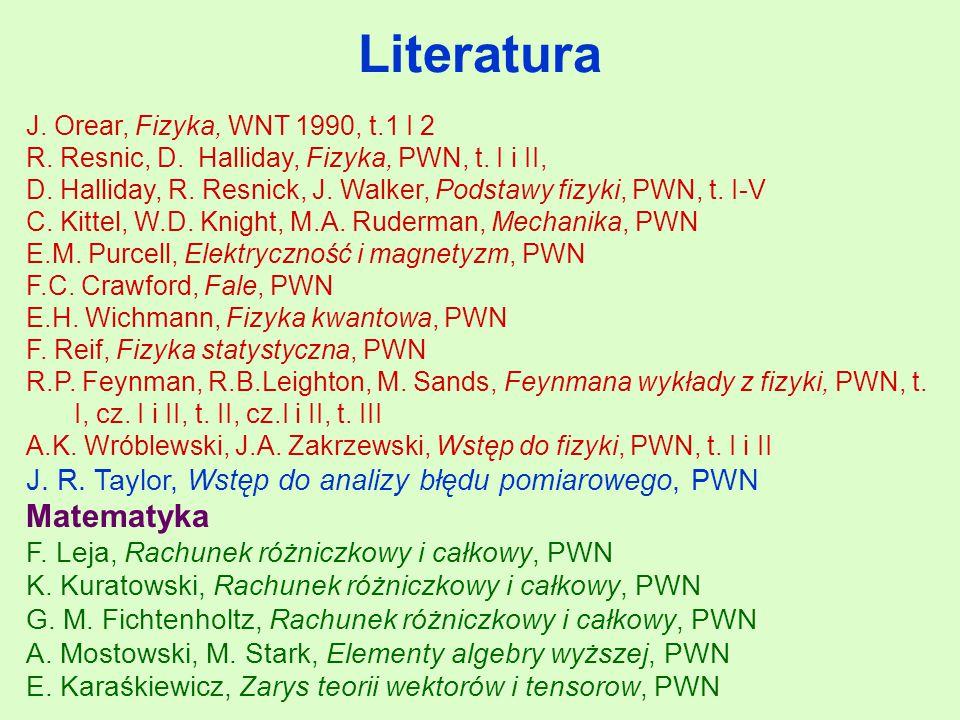Literatura Matematyka
