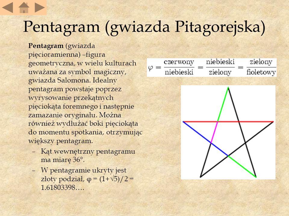 Pentagram (gwiazda Pitagorejska)