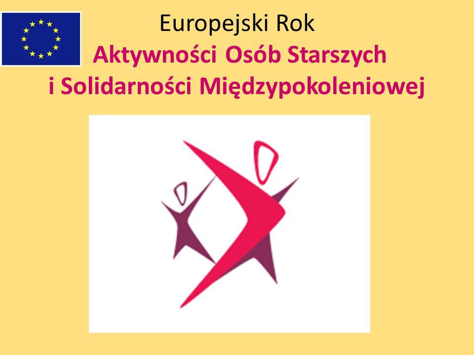 Europejski Rok Aktywności Osób Starszych i Solidarności Międzypokoleniowej