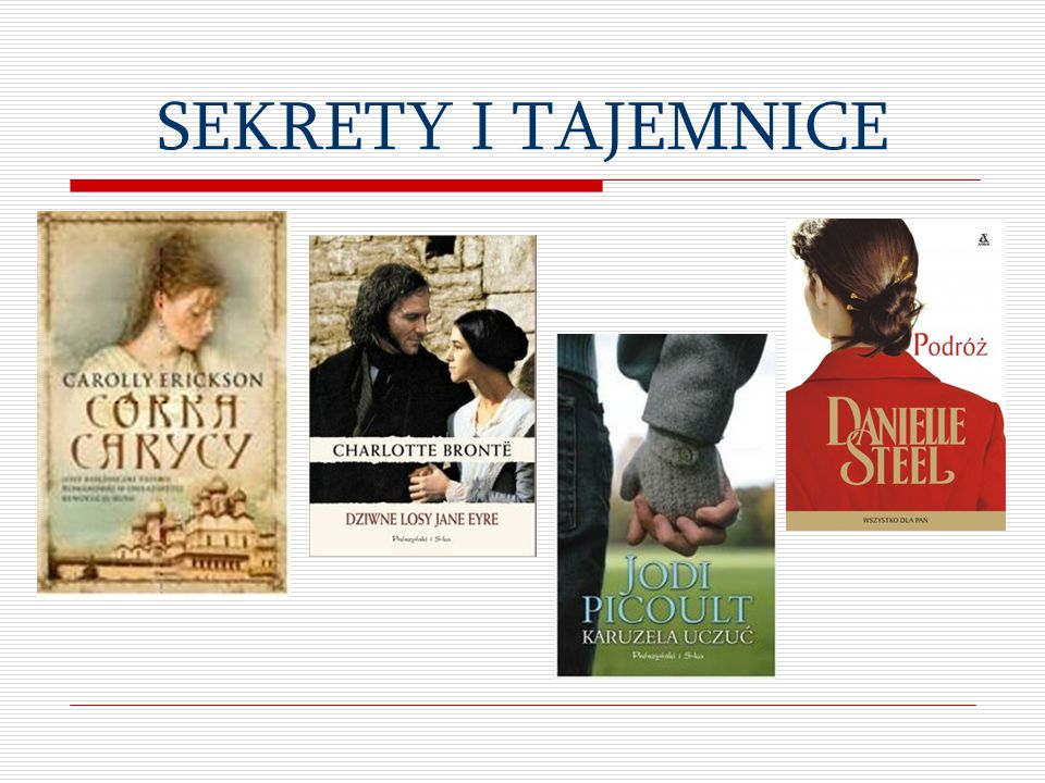 SEKRETY I TAJEMNICE