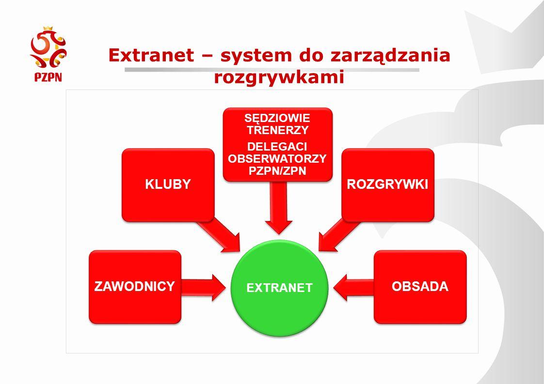 Extranet – system do zarządzania rozgrywkami