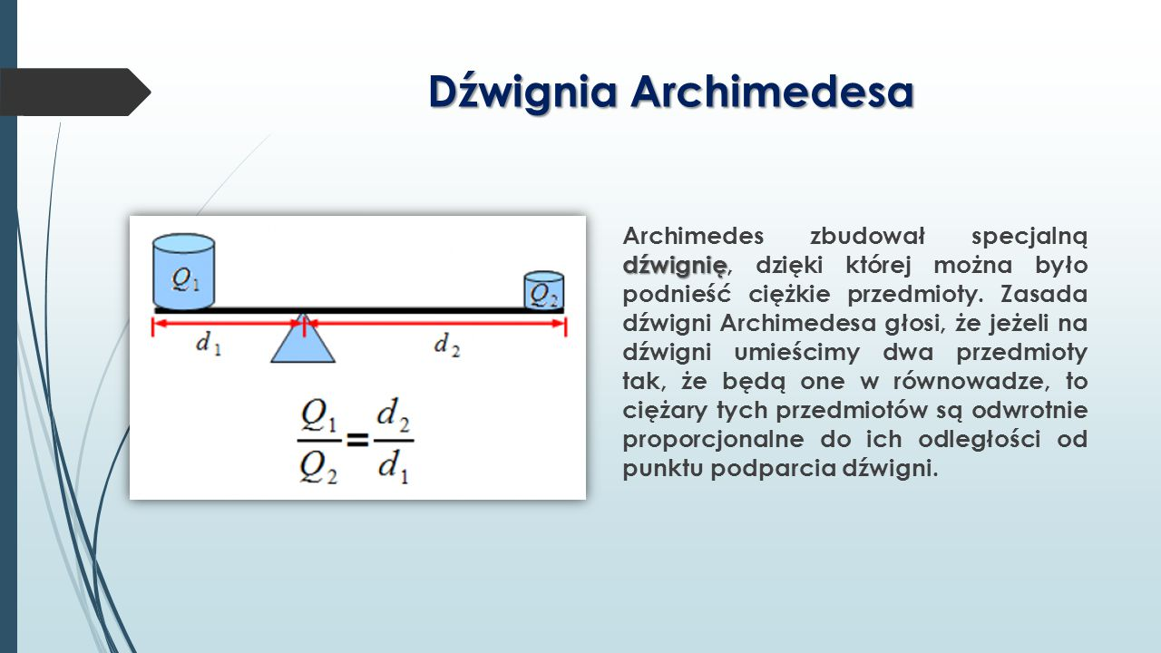 Dźwignia Archimedesa