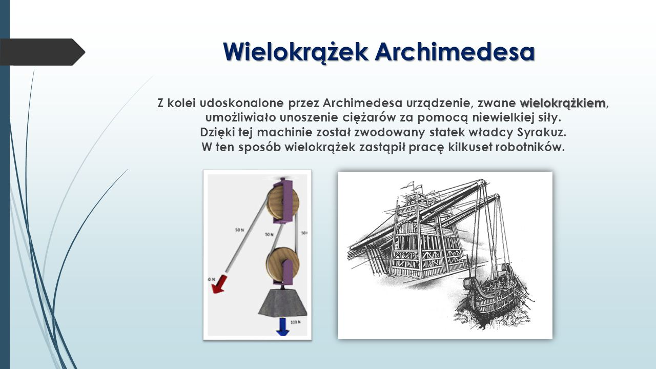 Wielokrążek Archimedesa