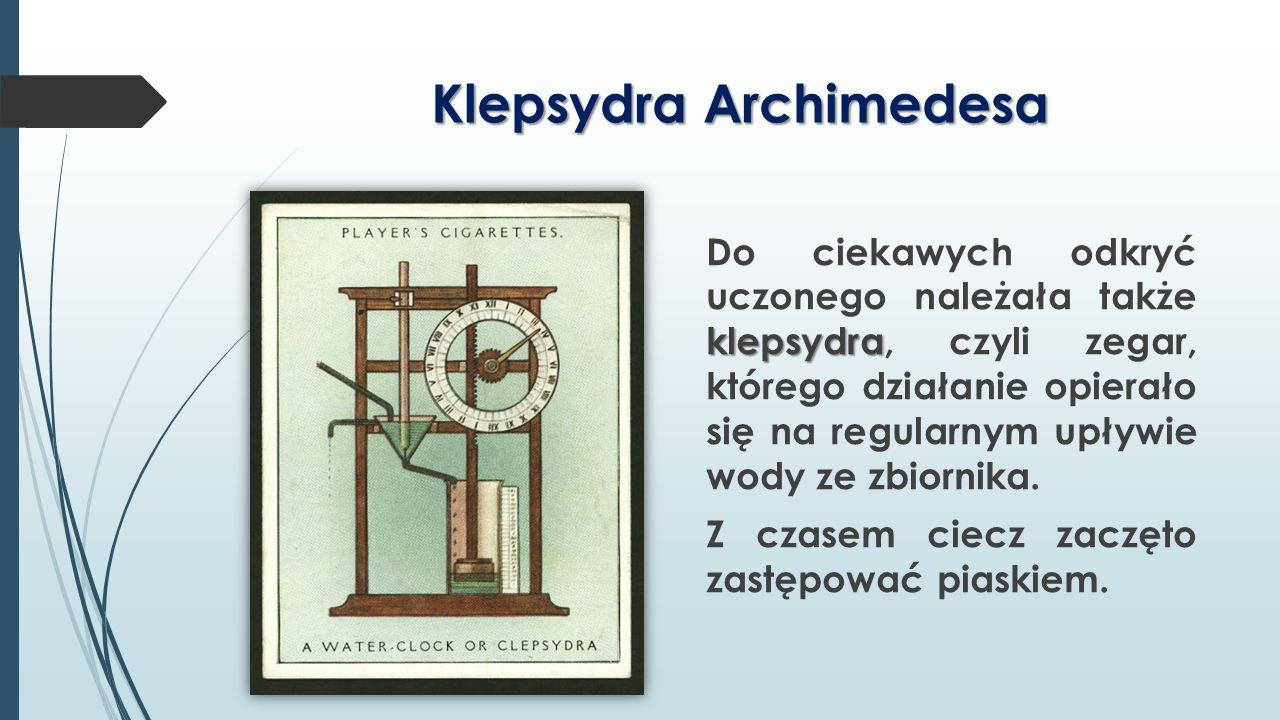 Klepsydra Archimedesa