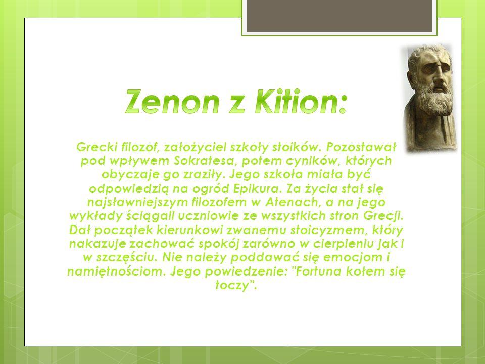 Zenon z Kition: