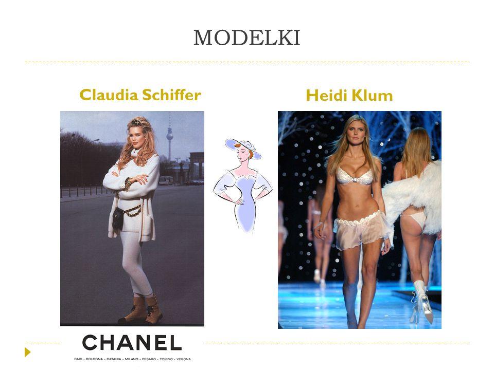 MODELKI Claudia Schiffer Heidi Klum