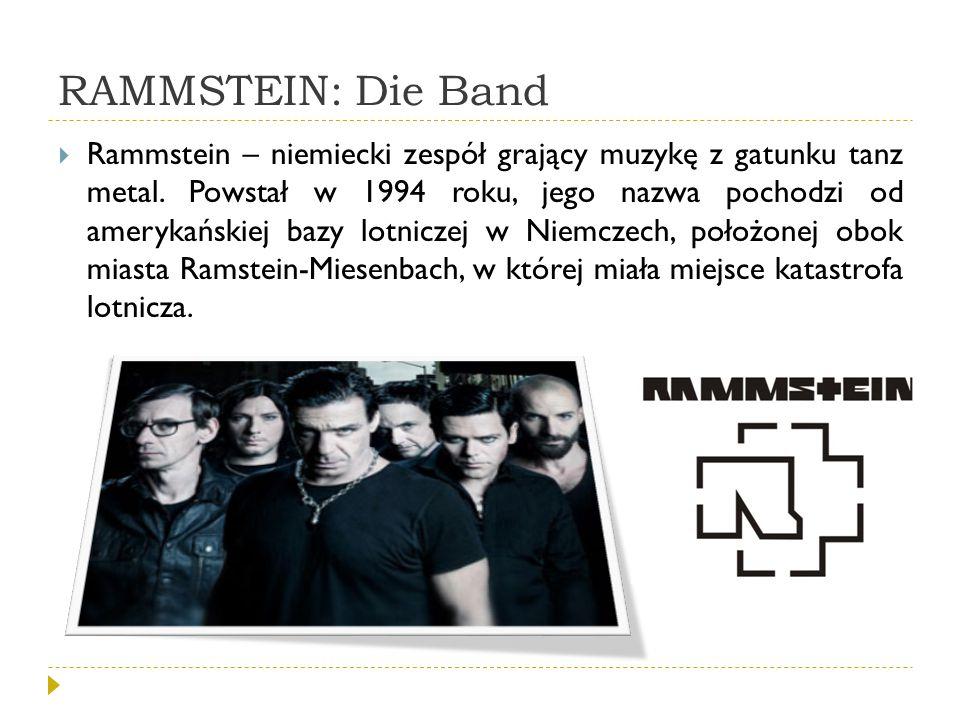 RAMMSTEIN: Die Band