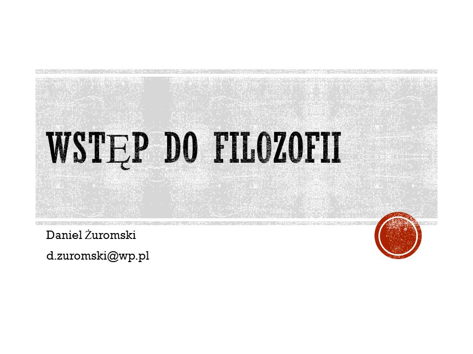 Daniel Żuromski d.zuromski@wp.pl