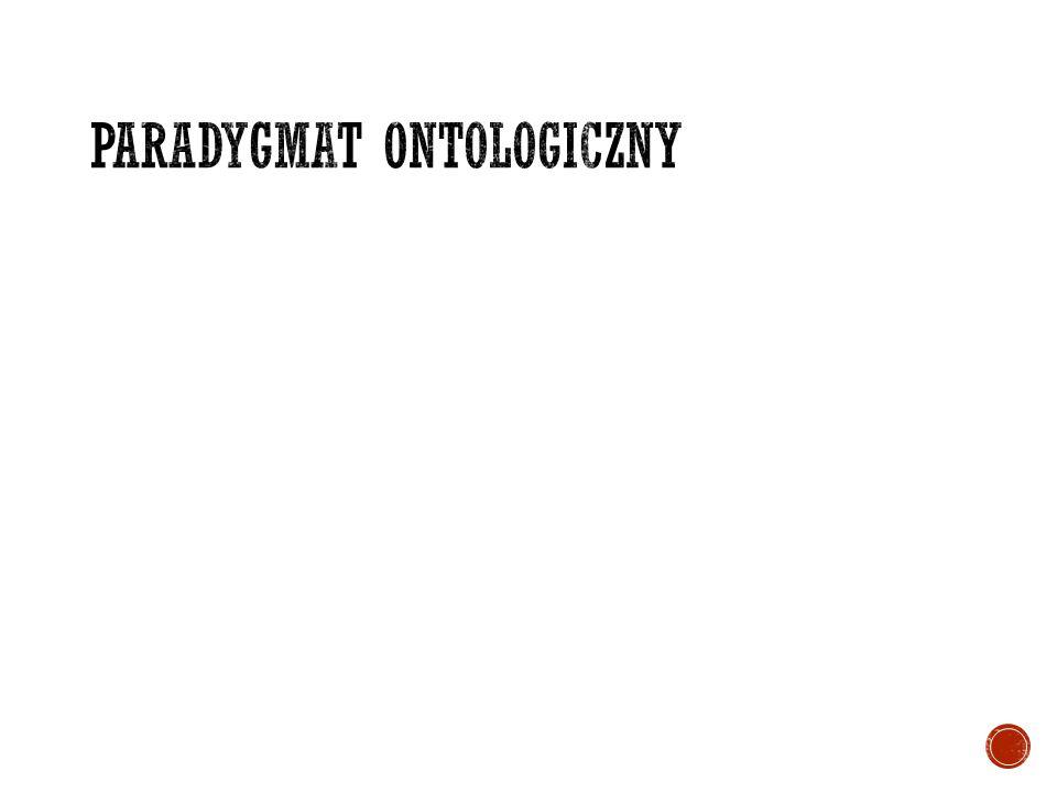 Paradygmat ontologiczny