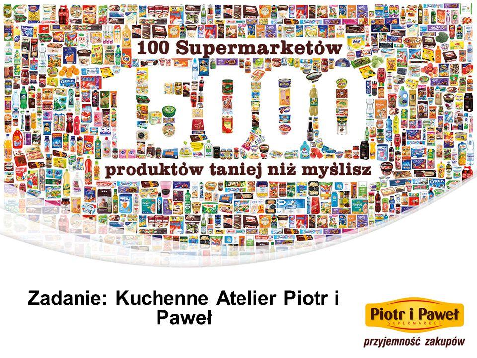 Zadanie: Kuchenne Atelier Piotr i Paweł
