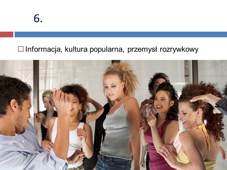 6. Informacja, kultura popularna, przemysł rozrywkowy 48 48