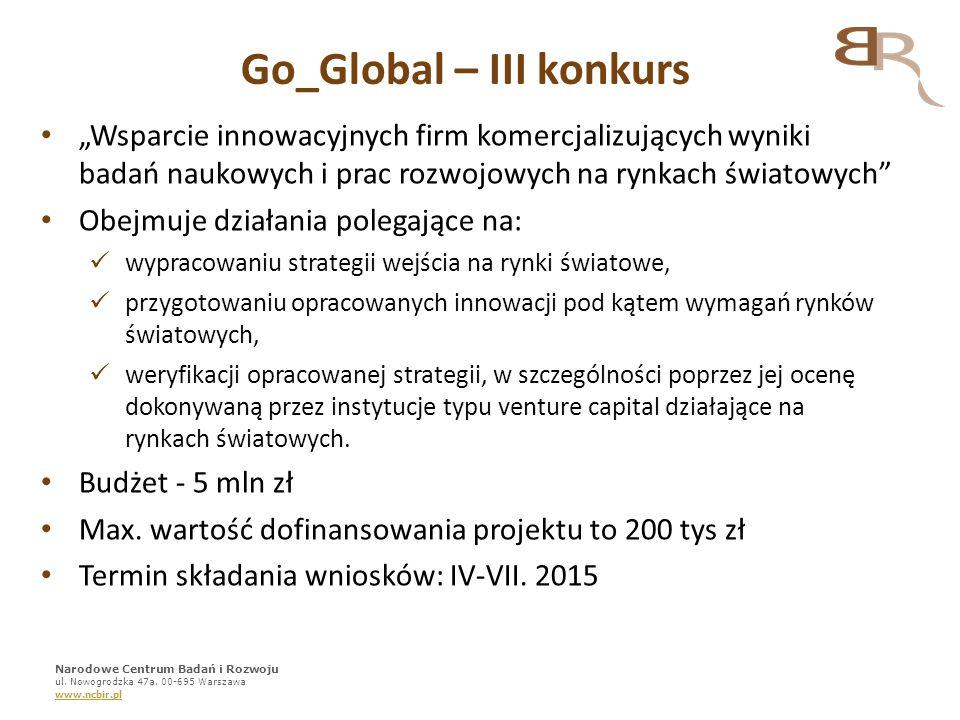 Go_Global – III konkurs