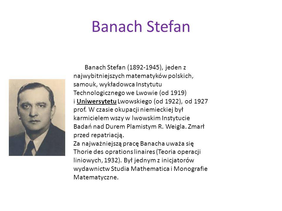 Banach Stefan