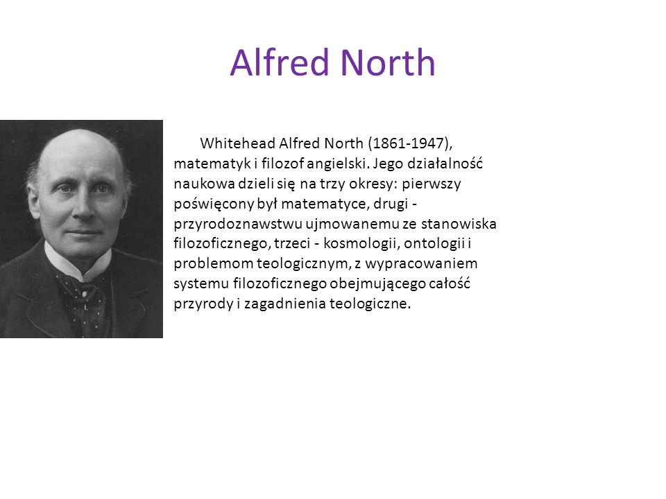 Alfred North