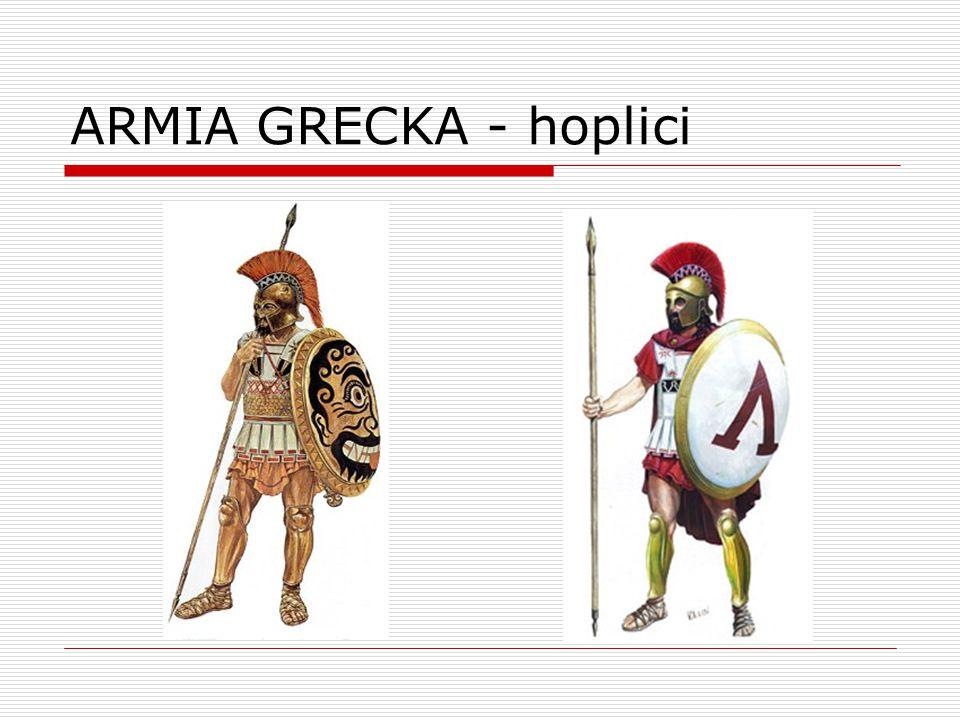 ARMIA GRECKA - hoplici