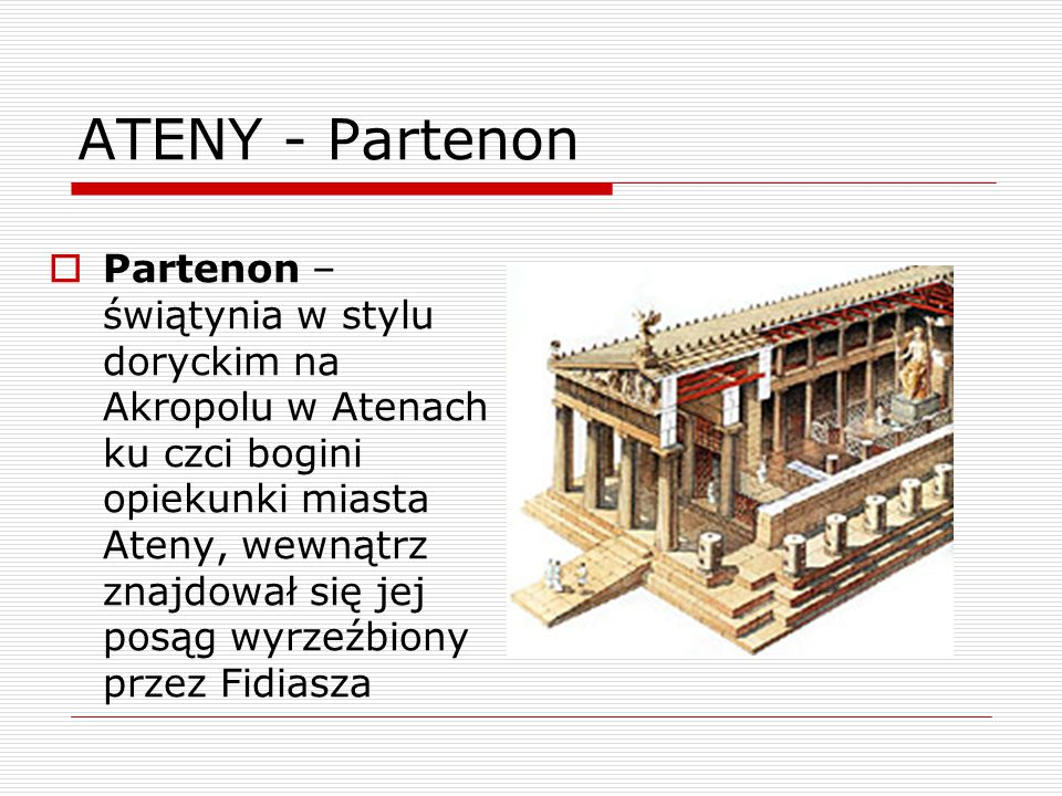 ATENY - Partenon