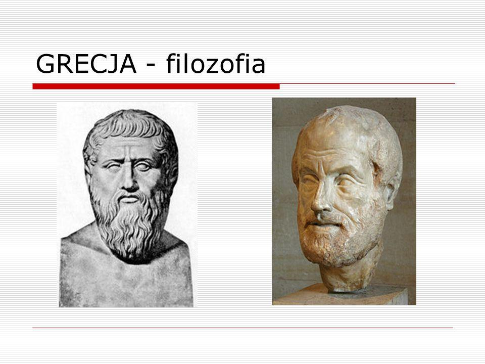 GRECJA - filozofia