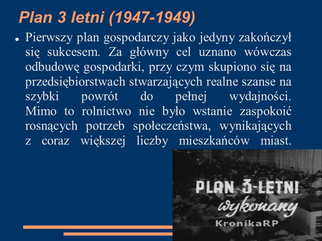 Plan 3 letni (1947-1949)