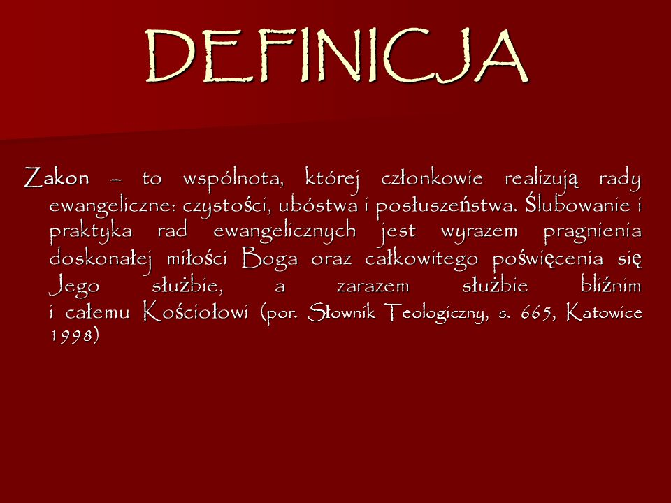 DEFINICJA