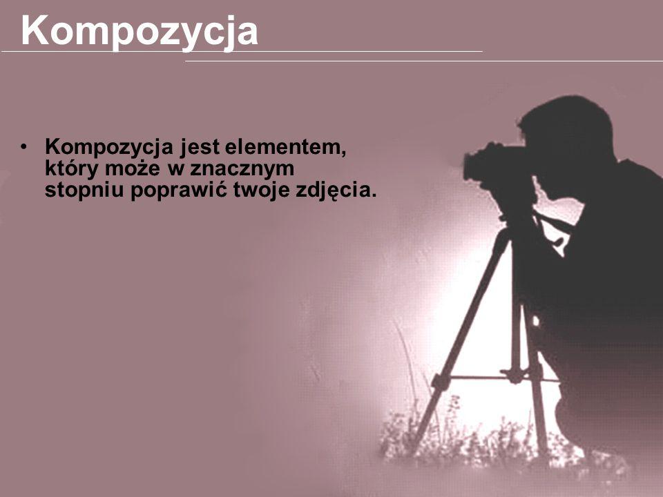 Kompozycja Kompozycja jest elementem, który może w znacznym stopniu poprawić twoje zdjęcia.