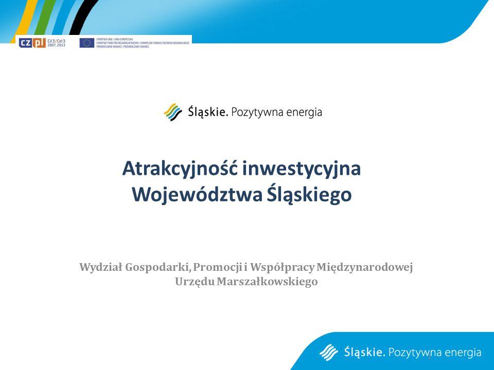 Atrakcyjność inwestycyjna Województwa Śląskiego