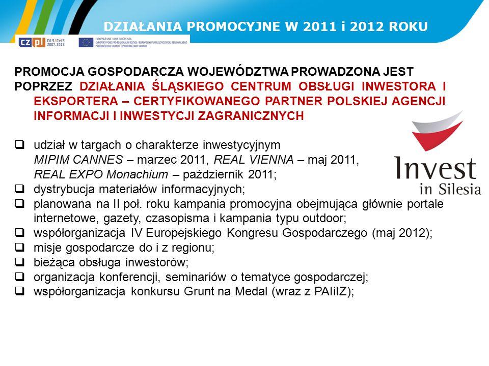 DZIAŁANIA PROMOCYJNE W 2011 i 2012 ROKU