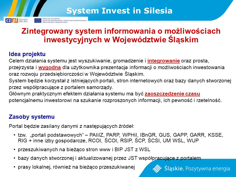 System Invest in Silesia