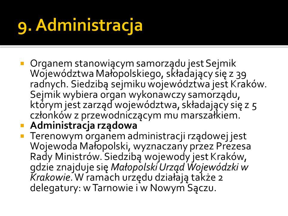 9. Administracja