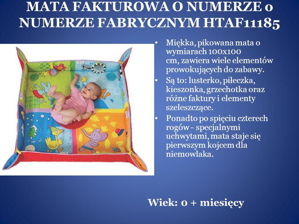 MATA FAKTUROWA O NUMERZE o NUMERZE FABRYCZNYM HTAF11185