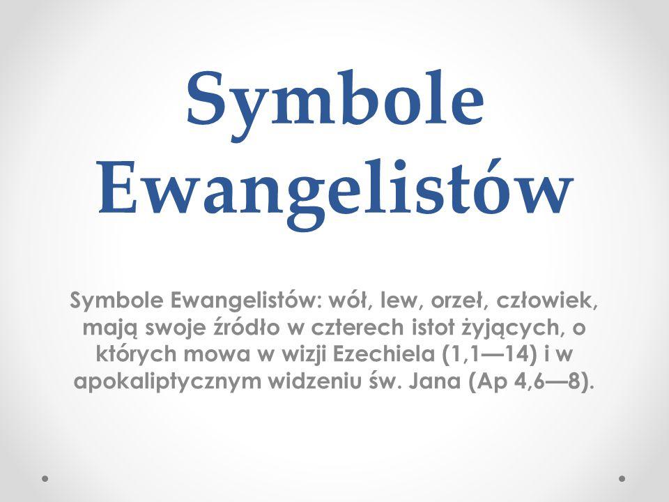 Symbole Ewangelistów