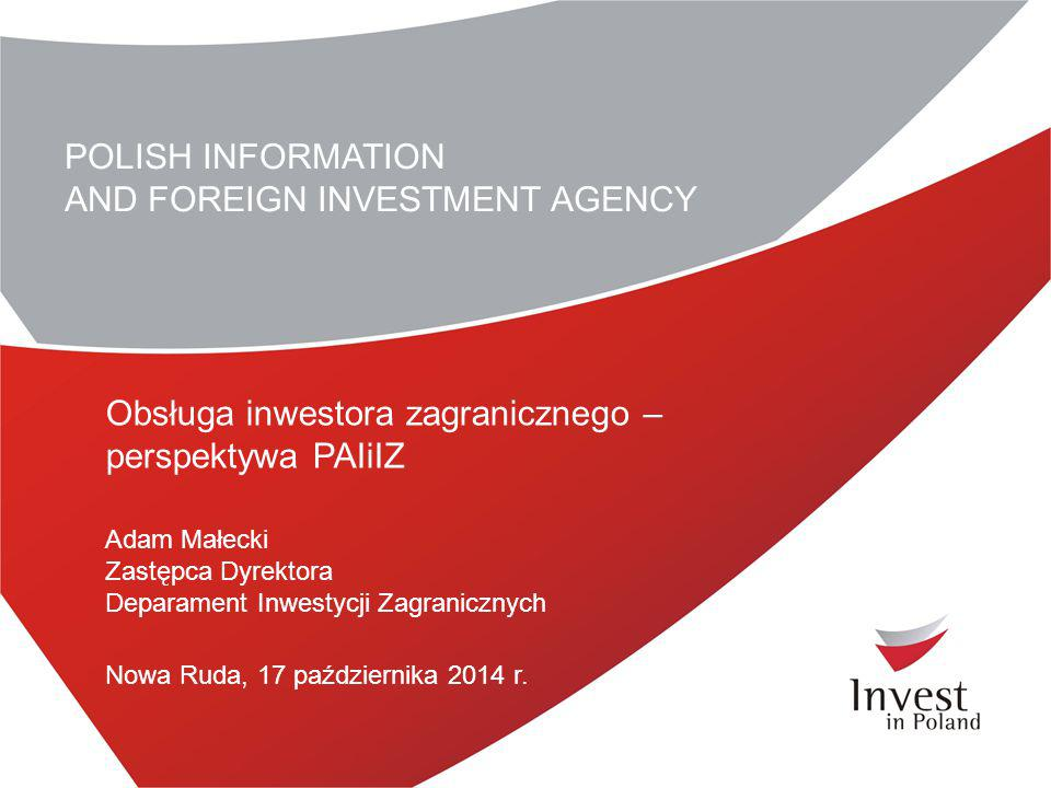 AND FOREIGN INVESTMENT AGENCY